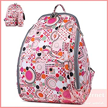 Amazon.com : 2015 Multifunction Mummy Nappy Bag Infant Baby Diaper ...