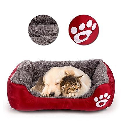Vandot Camas para Perros, Cómodo Mascotas Sofá para Animales Lavable a Máquina Cama de Suave