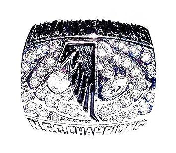 Atlanta falcons wedding rings