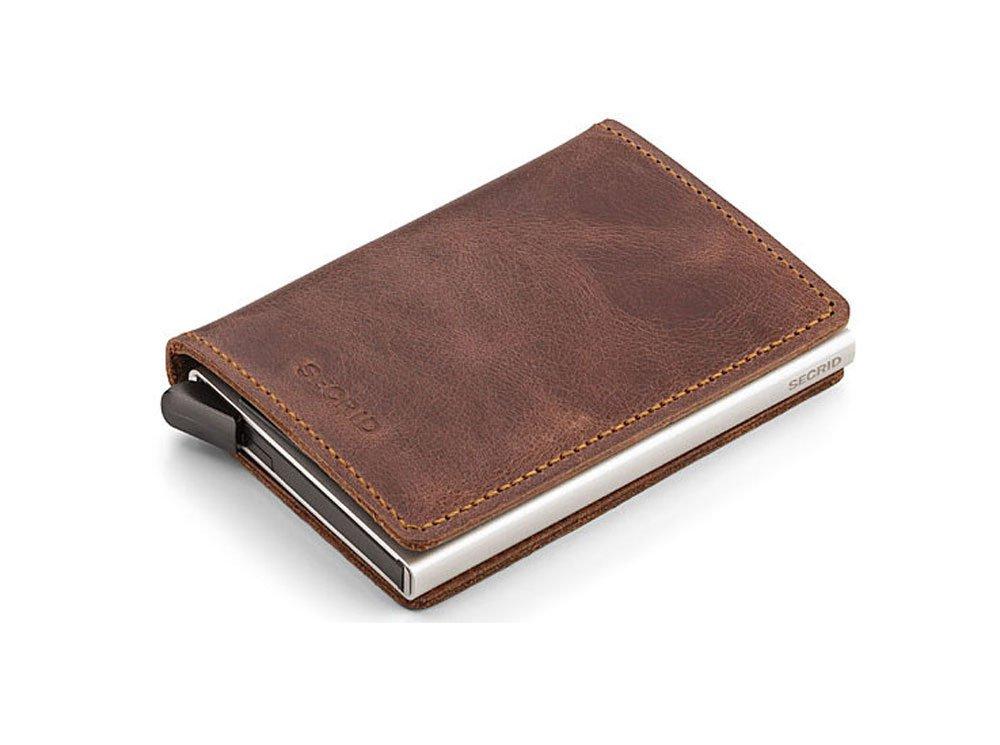 Secrid - RFID Blocking Slim Wallet - Vintage Black 1409600