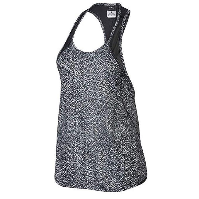 3a36e143ea50d Amazon.com: Nike Women's Dri-fit Racerback Tank Top (XS, Cool Grey ...