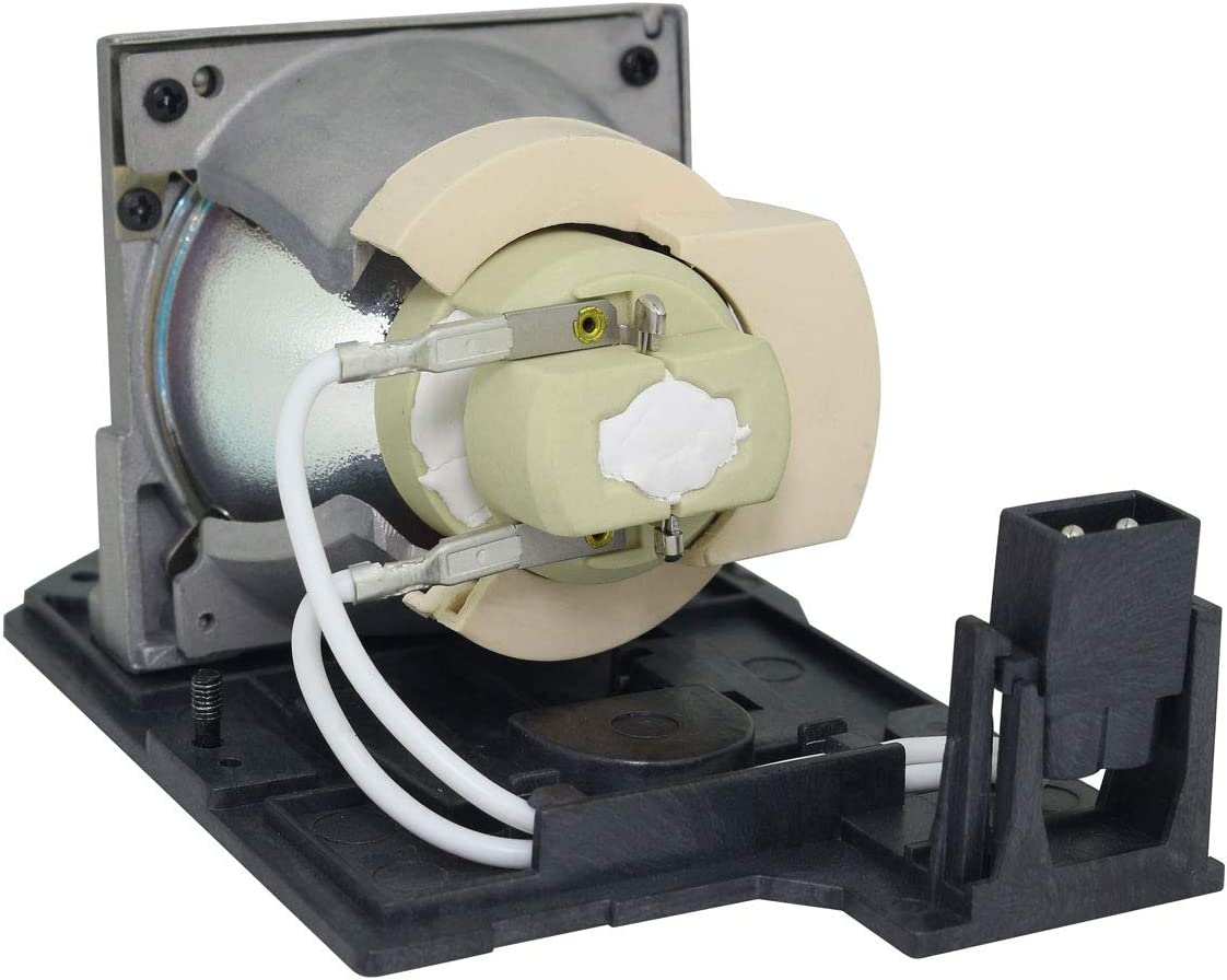 Lutema Platinum Bulb for Optoma TX610ST Projector Lamp with Housing Original Philips Inside
