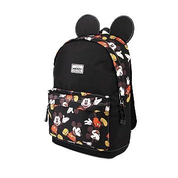 Karactermania Mickey Mouse True-Mochila Freetime Mochila Tipo Casual, 42 cm, 21 litros, Negro: Amazon.es: Equipaje