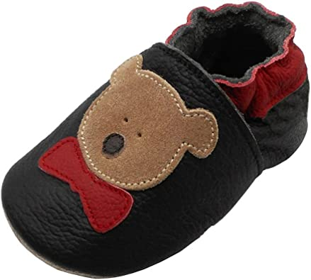 Easy Wear Baby Shoes Soft Soled Baby Moccasins Soft Soled Baby Slippers Booties for Newborn Babies and Toddlers