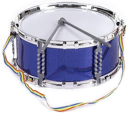 ammoon Vistoso Jazz del Tambor de Trampa Instrumento Musical de Percusión de Juguete Palillos del Tambor con la Correa para Niños Kids: Amazon.es: Instrumentos musicales