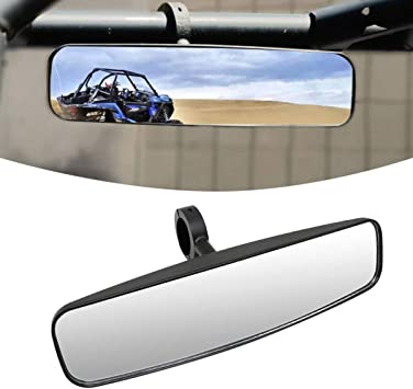 """Wide Rear View UTV Mirror with 1.75/"""" Clamp For Polaris RZR800 1000 XP900 XP1000S"""