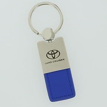 Toyota Land Cruiser llavero de piel azul: Amazon.es: Coche y ...