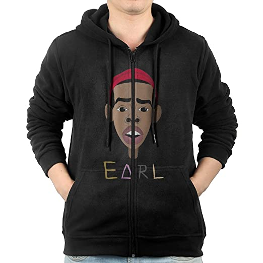 Amazoncom Men Earl Sweatshirt Earl Color Cartoon Hooded Sweatshirt