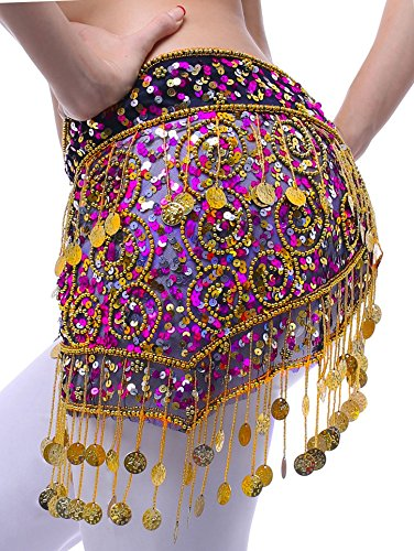 Gypsy Scarf Belly Dancer Hip Scarf Belly Dance Skirt Costume for ()