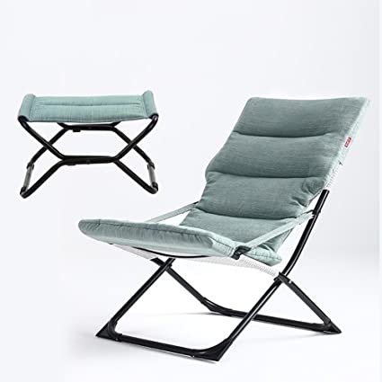 Genial ZXL Deck Chair Outdoor Office Household Casual Portable Fashion Recliner  Chairs With Folding Footrest (Color