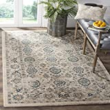 Cheap Safavieh Evoke Collection EVK515F Vintage Beige and Turquoise Area Rug (9′ x 12′)