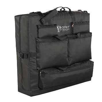 Master 78740 - Bolsa de transporte para camillas de masaje (tejido de nailon, transporte sencillo), color negro: Amazon.es: Salud y cuidado personal
