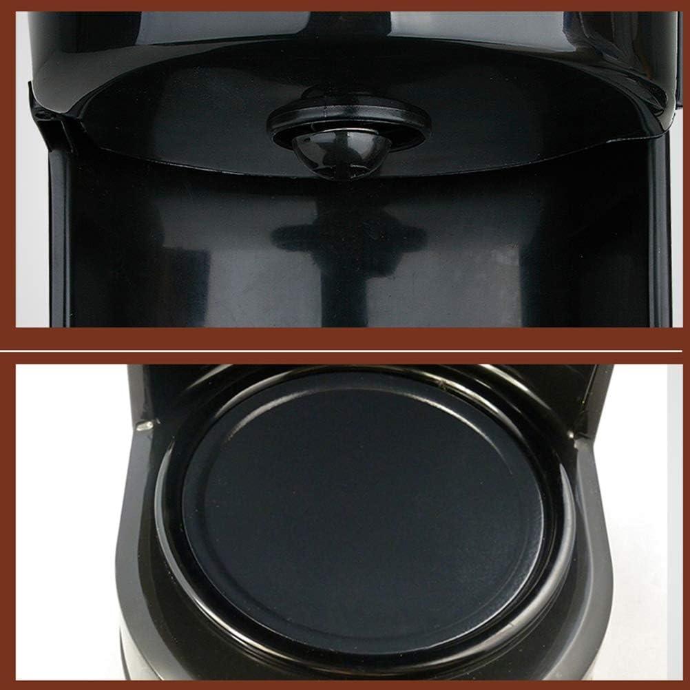 Máquina de café, 590W cafetera de filtro con filtro reutilizable y ...
