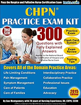 Amazon com: CHPN Practice Test Kit for the Certified Hospice