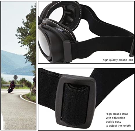1 St/ück Unisex Outdoor Retro Motorradbrille Wasserdicht Winddicht und Staubdicht Skibrille Keenso Motorradbrille