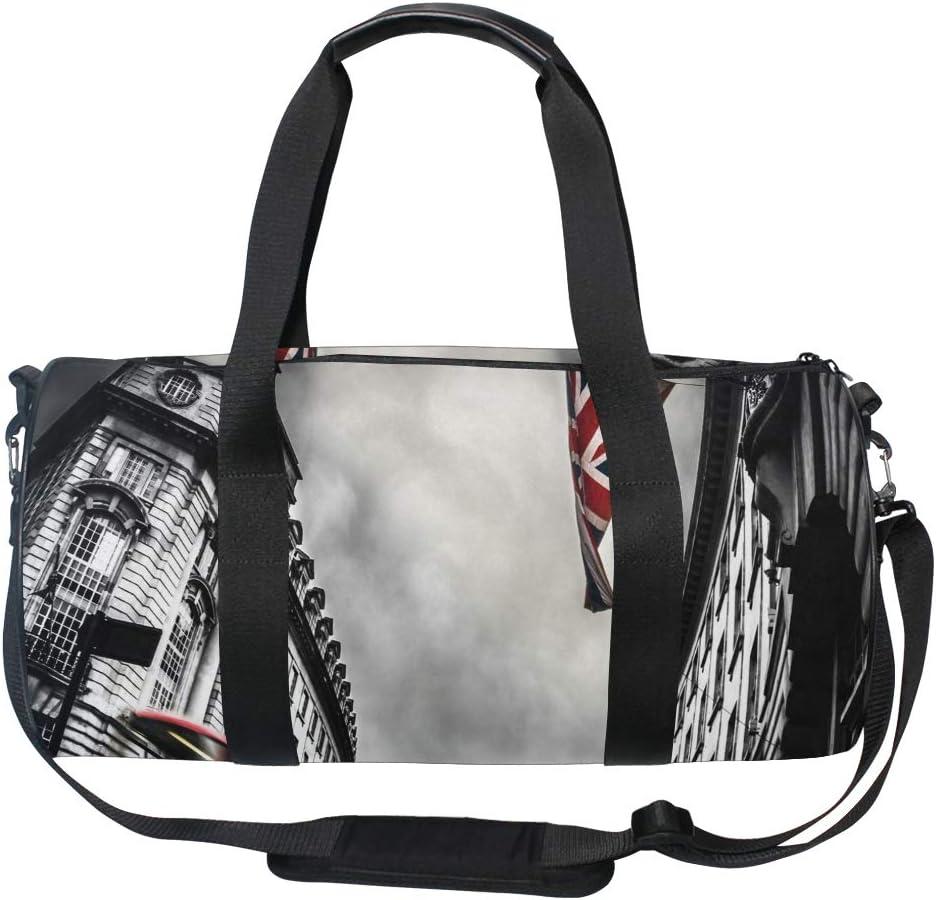 Duffel Bag London Women Garment Gym Tote Bag Best Sports Bag for Boys