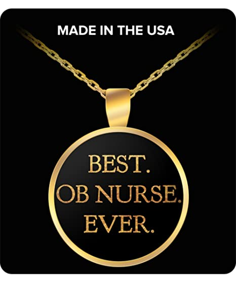OB Nurse Jewelry Gifts BEST NURSE EVER