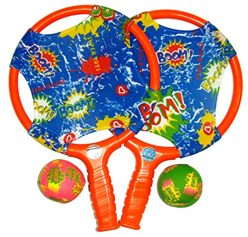 (Water Sports Itza Paddle Ball with Splash Balls (Colors May Vary) )
