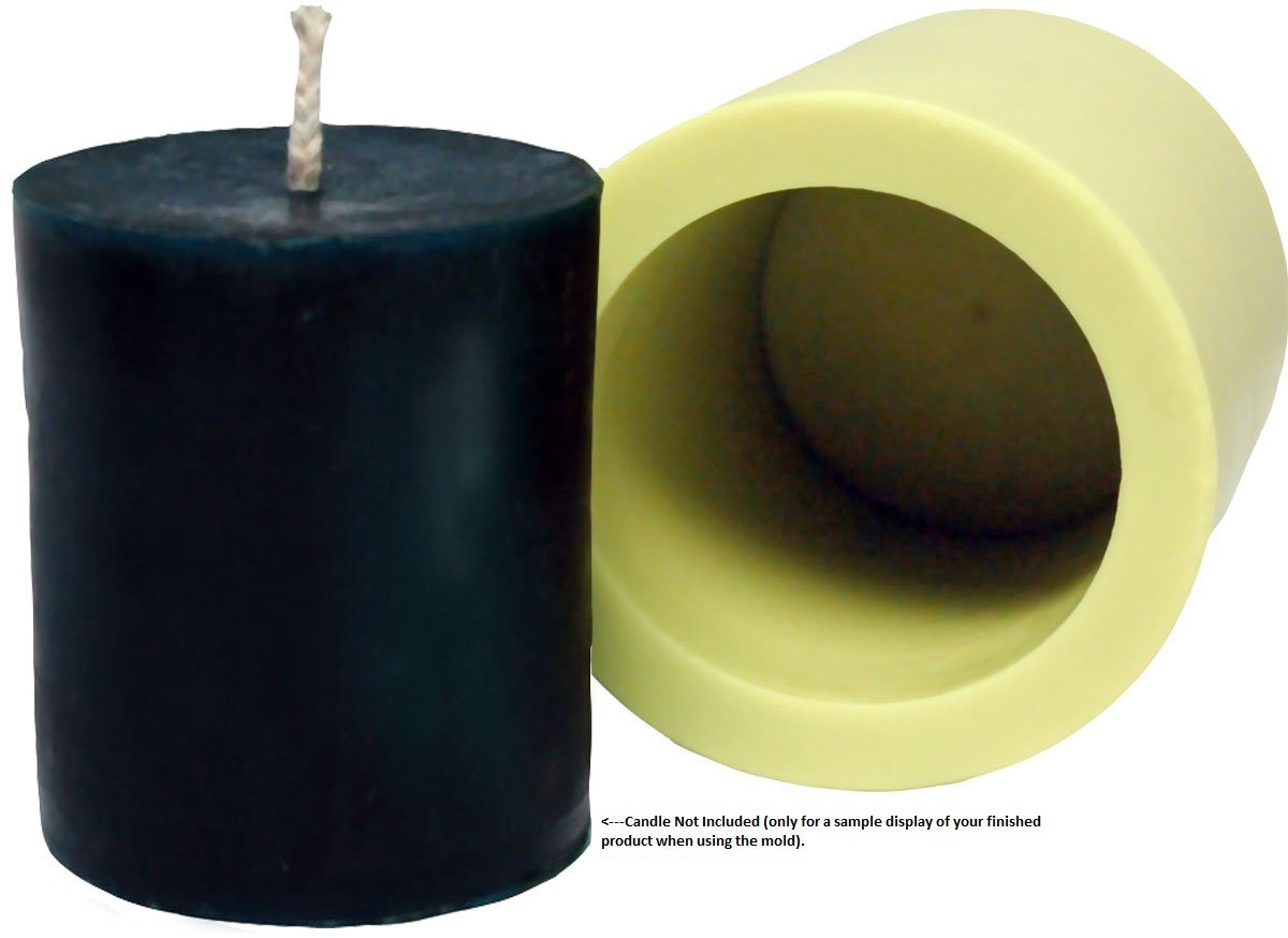 Mann Lake ''Cylinder'' Candle Mold, 3-Inch by 4-Inch by Mann Lake (Image #2)