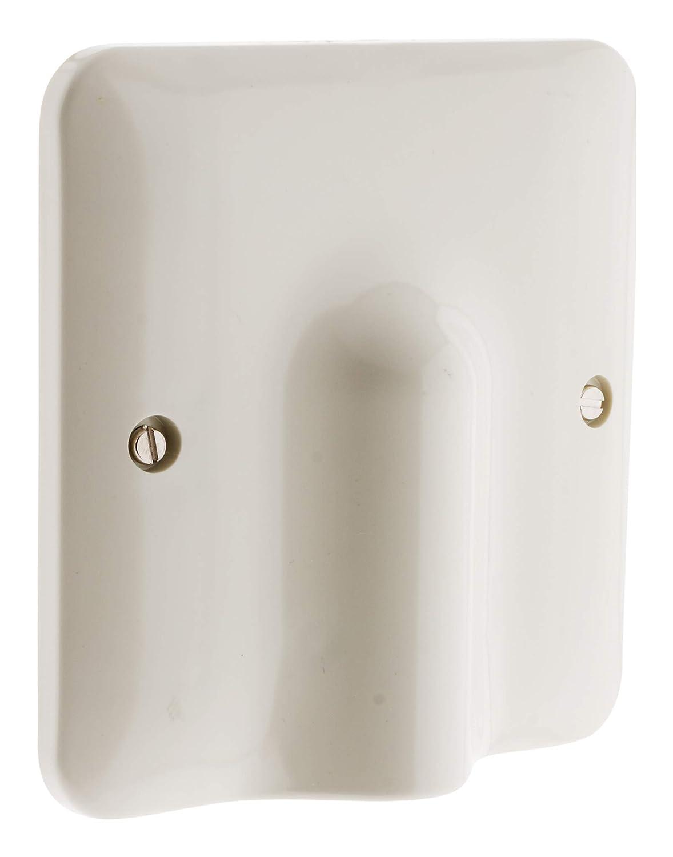 Indipc - Embellecedor para salida de cable (100 x 100 mm, incluye sujeta cables interior): Amazon.es: Industria, empresas y ciencia