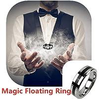 Jundamx Anillo de suspensión Accesorios mágicos Anillo Flotante: Trucos de Magia Accesorios mágicos Profesionales