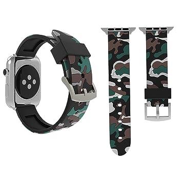 MEMETHEVAT Bandas de Repuesto SmartWatch para Apple Watch Series 3 ...