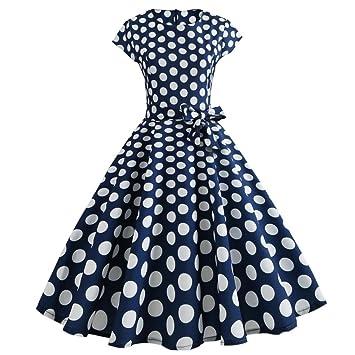 Vestidos elegantes para mujer, estilo vintage, estilo Saihui Retro 1950, con diseño de