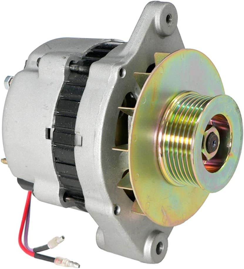 DB Electrical AMN0005 New Mando Alternator For Mercruiser 65 Amp 6-Groove Pulley, Mercruiser Sterndrive, Cummins Mercruiser Inboard, Mercruiser Inboard Engine, Mercruiser Ski Engine 60060 AC165617