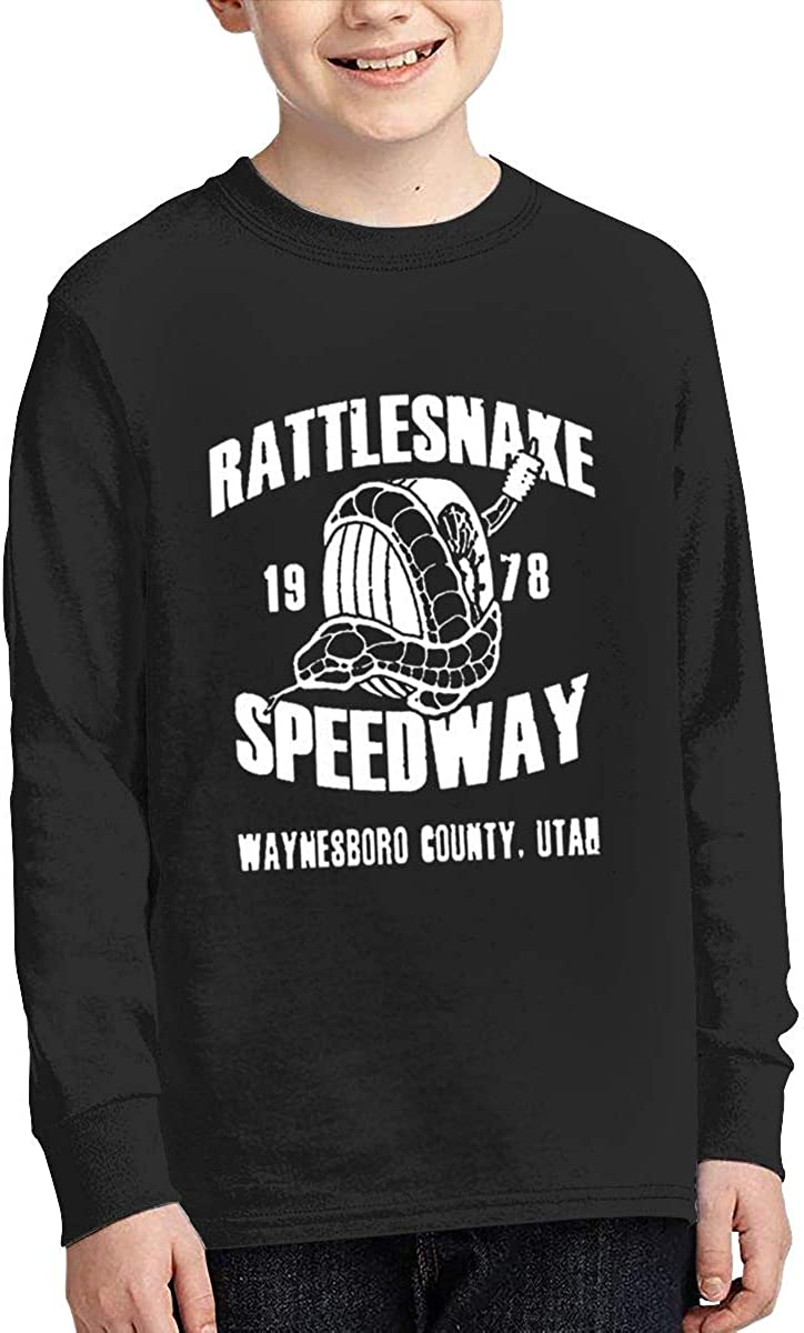 Optumus Rattlesnake/ 1978/ Speedway Kids Sweatshirts Long Sleeve T Shirt Boy Girl Children Teenagers Unisex Tee