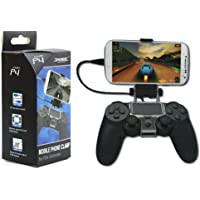 FITYLE Smart Phone Mount Bracket Storage Holder For Sony PS4 Controller Gamepad