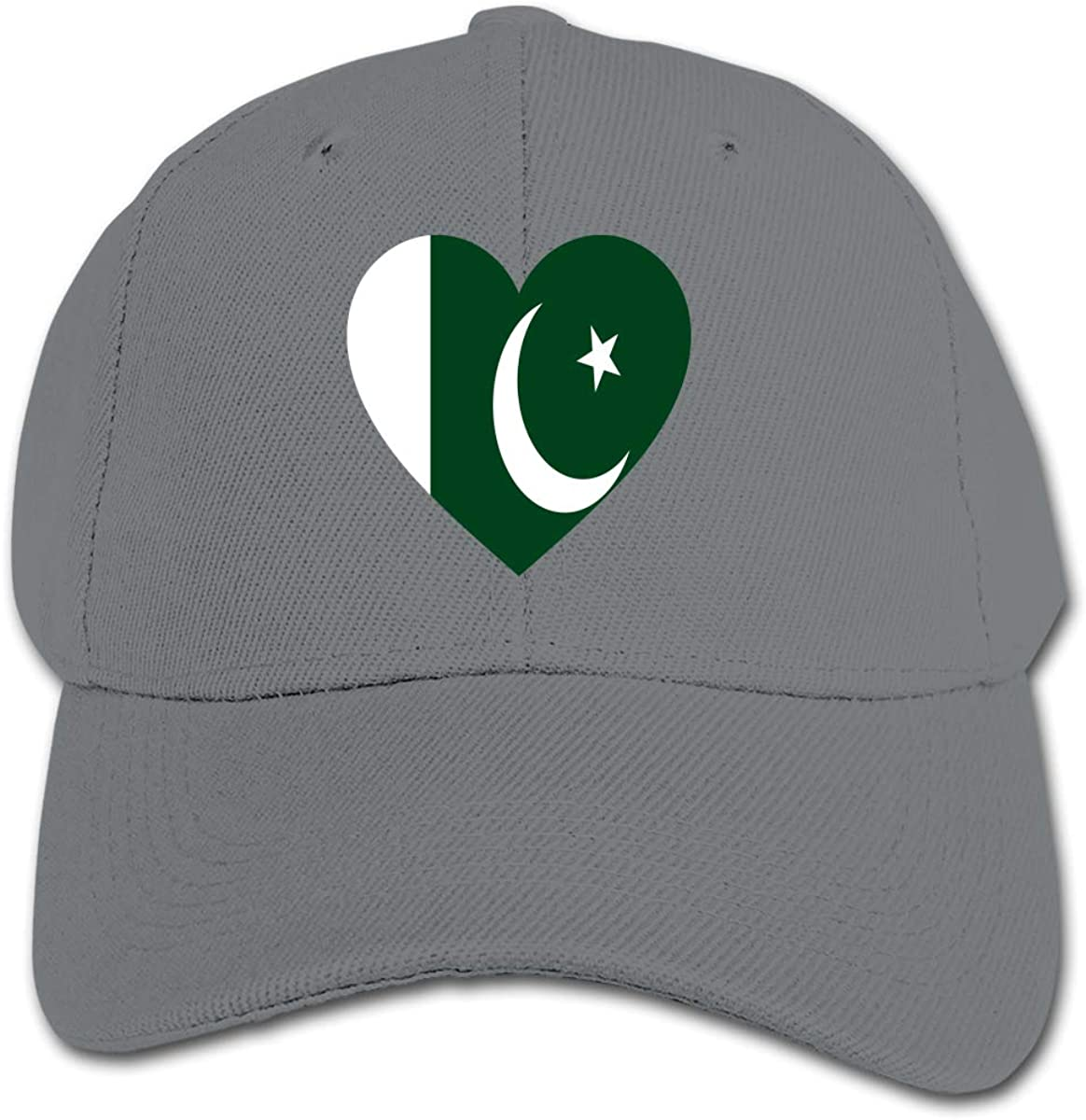 Love Pakistan Flag Kids Baseball Cap Hat Unisex Toddler Sun Hat Adsjutable Trucker Hat