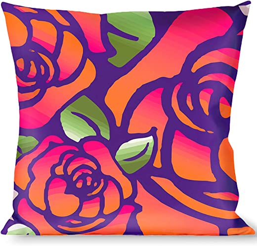 Pillow Decorative Throw Born To Blossom Blue