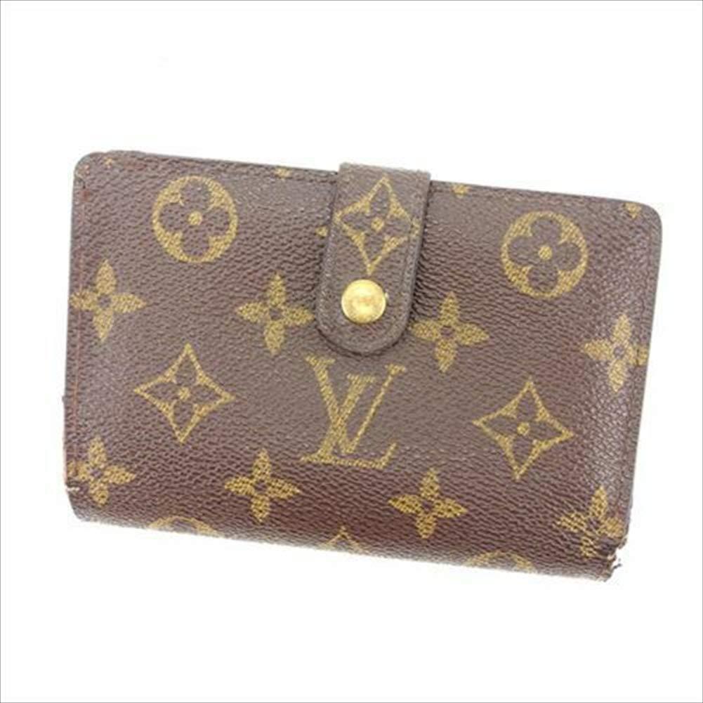 ルイヴィトン Louis Vuitton がま口財布 二つ折り メンズ可 ポルトモネ ビエヴィエノワ M61663 モノグラム 中古 T12005   B07R78PRQ2