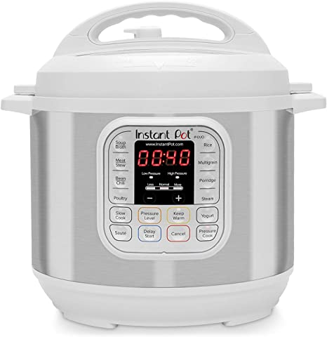 Slow Co W Instant Pot DUO60 6 Qt 7-in-1 Multi-Use Programmable Pressure Cooker