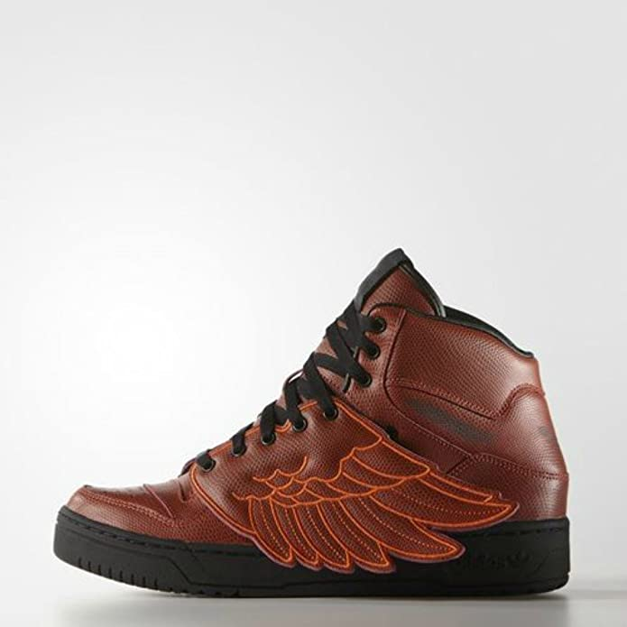 sneakers for cheap 145b0 3eeed Amazon.com  adidas Originals Jeremy Scott JS Wings B-Ball Shoes, RedRouge  (6)  Fashion Sneakers
