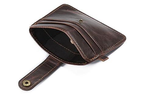 Outtop moda hombres cartera billetera con tarjeta Hoder Retro jinbaolai