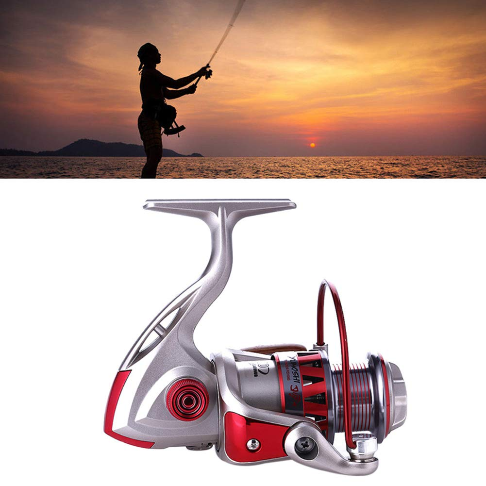 Etophigh Fishing Reel Hollow-out Body Lightweight Bait Casting Fishing Wheel Tool for Freshwater Saltwater Fishing Reel Up To 8.5 oz.