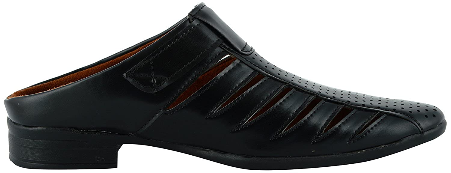 new balance dress shoes. da-dhichi men\u0027s black synthetic casual stylish back open shoe: buy online at low prices in india - amazon.in new balance dress shoes a