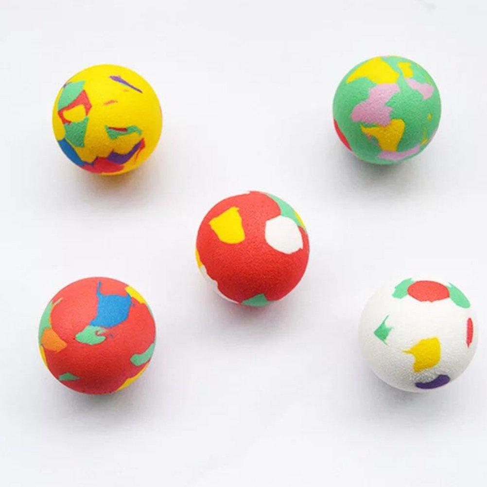 TOYMYTOY 25pcs rimbalzante rimbalzante del sacchetto del partito delle palle del getto della palla di rimbalzo per i bambini