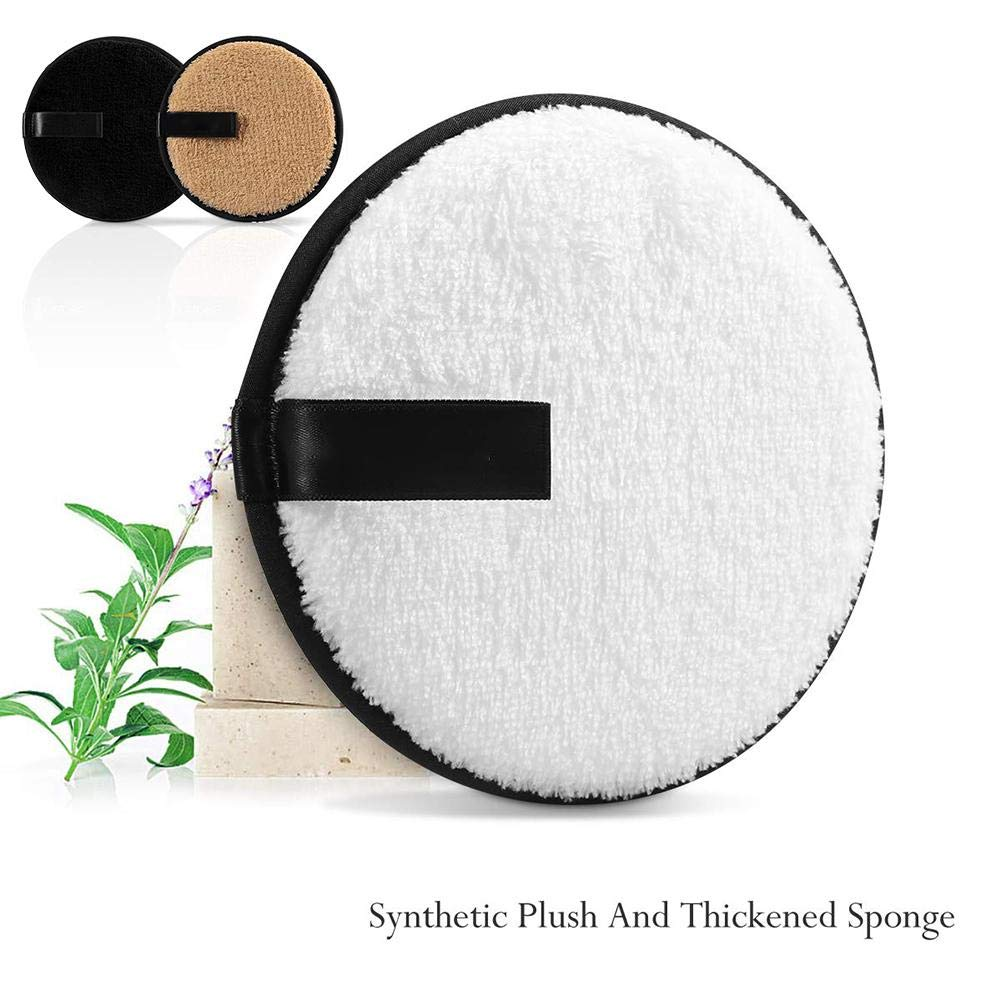 Envisioni Reusable Make Up Remover Pads Washable Soft Makeup Remover Cloth Cotton Pad Skin Care Facial Clean Wipes Face//Eye//Lip Clean For Women Men