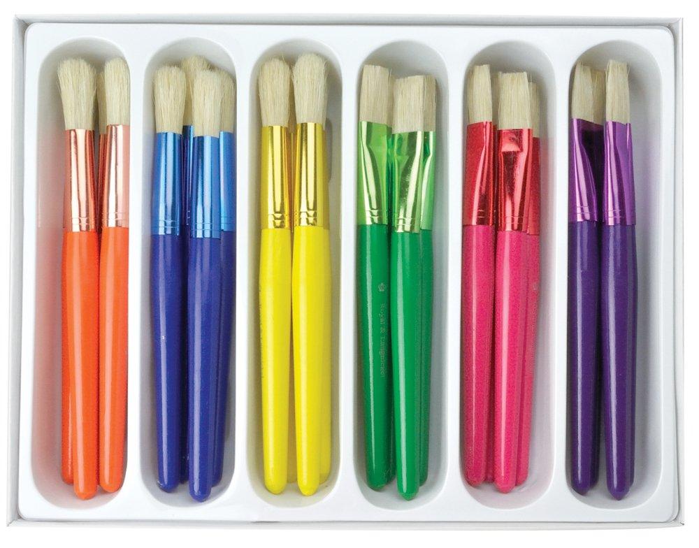 Royal /& Langnickel RCVP-107 Set de pinceaux manche extra large pour enfants 24 pi/èces