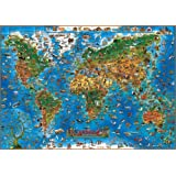 Children's Animals of the World Wall Map (Childrens Maps)(Laminated)