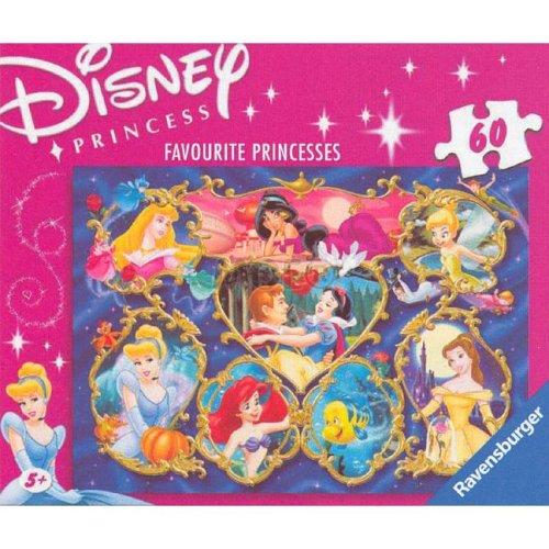 Disney Princess Favourite Princesses Puzzle 60 pieces Amazonco