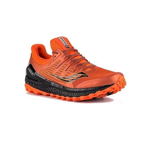 para de hombrecolor naranja Saucony Trail running Zapatillas