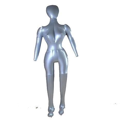 Back To 20s hinchable hembra cuerpo completo vestido forma ...