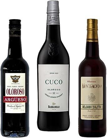 Mezclanza Oloroso - Estuche exclusivo de lo más selecto de Jerez: Amazon.es: Alimentación y bebidas