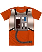 Star Wars I Am Luke Skywalker Flight Suit Mighty Fine Adult Costume T-Shirt Tee