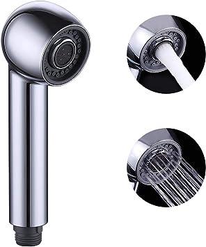 Geschirrbrause Ersatzkopf mit 2 Strahlarten Handbrause Küche Ersatz-Brausekopf