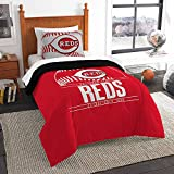 The Northwest Co mpany MLB Cincinnati Reds Grandslam Twin 2-piece Comforter Set