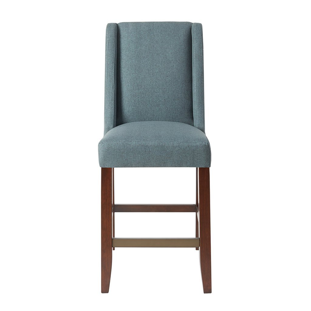 Awe Inspiring Madison Park Wing Counter Stool Brody Blue Gmtry Best Dining Table And Chair Ideas Images Gmtryco